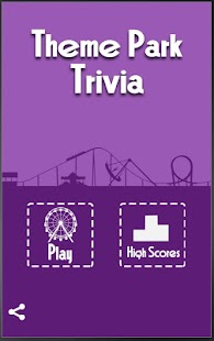 Theme Park Trivia- screenshot thumbnail