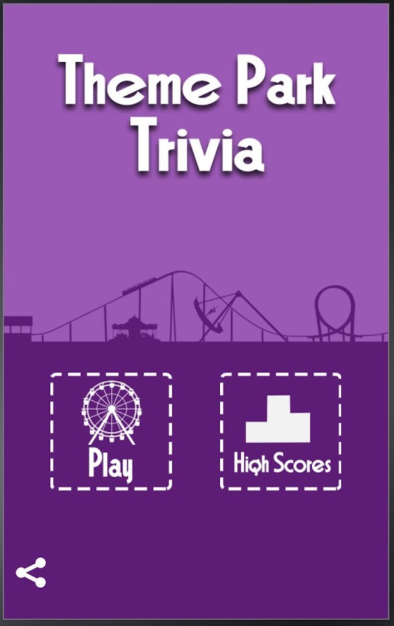Theme Park Trivia- screenshot