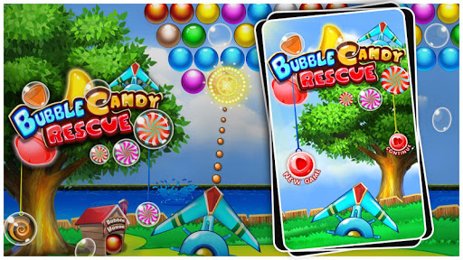 Bubble Candy Rescue