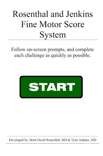 Fine Motor Score System