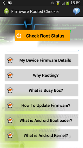 Firmware Rooted Checker