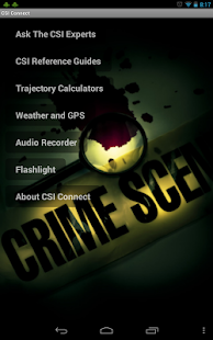 CSI Connect- screenshot thumbnail