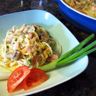 Ham and Pasta Casserole