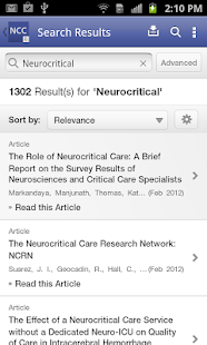 Neurocritical Care - screenshot thumbnail