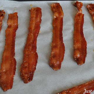 Cayenne Candied Bacon.