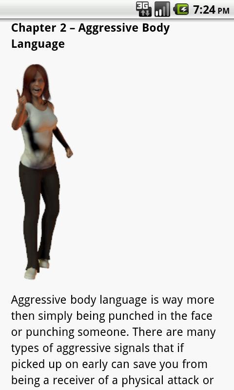 Body Language Guide- screenshot