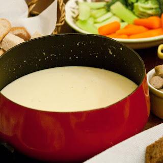 Swiss Cheddar Fondue