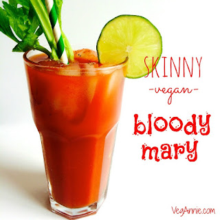 Vegan Bloody Mary.