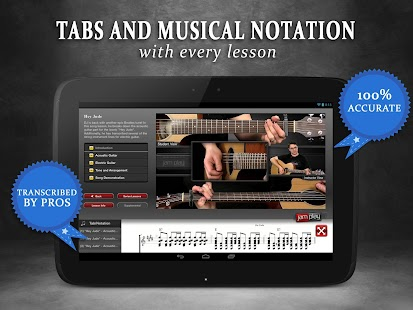 Guitar Lessons from JamPlay- screenshot thumbnail