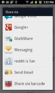 GtalkShare - screenshot thumbnail
