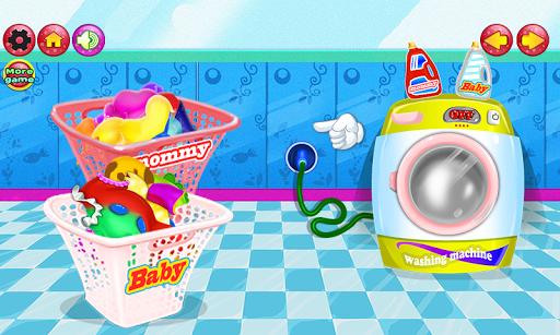 洗衣洗寶寶的遊戲|玩休閒App免費|玩APPs