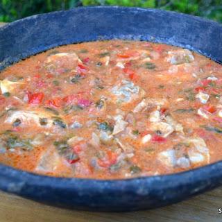 MOQUECA a Brazilian Seafood Stew
