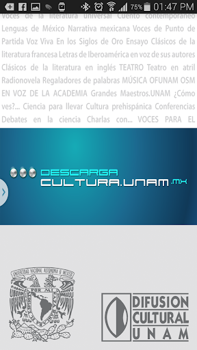 Descarga Cultura.UNAM