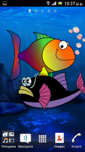 Silly Fish Live Wallpaper