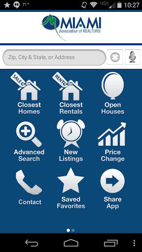 MIAMI Mobile Real Estate App