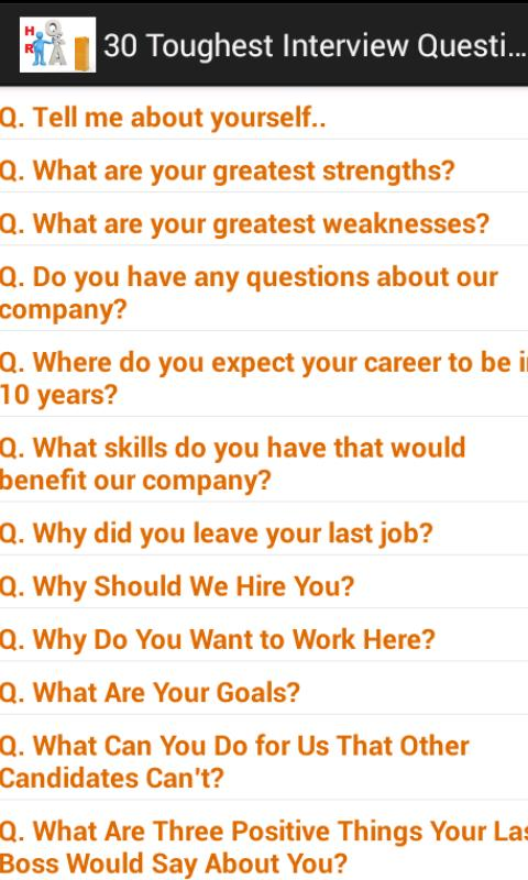 HR Interview Questions & Ans- screenshot