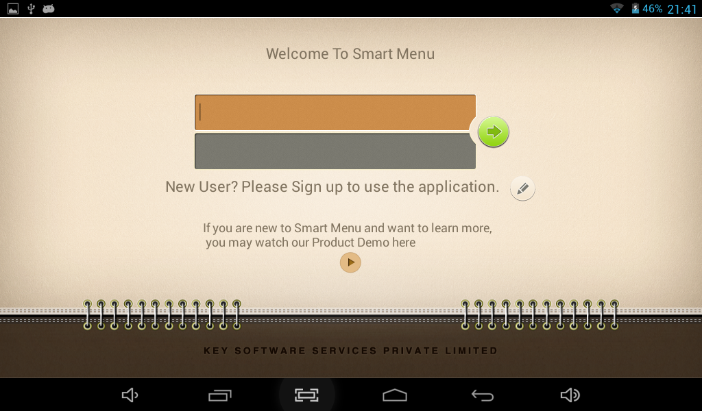 Smart Menu - POS Software- screenshot