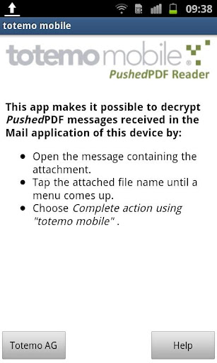 totemomobile PushedPDF Reader