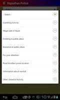 Screenshot of RajCop Citizen