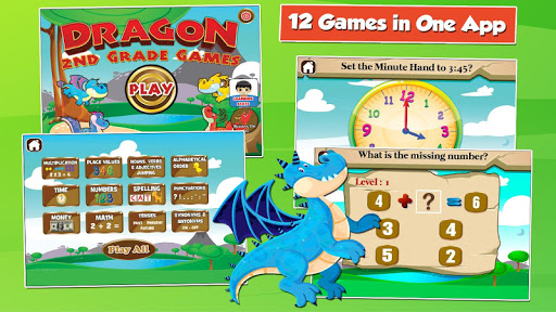 Games for 2nd Grade: Dragon