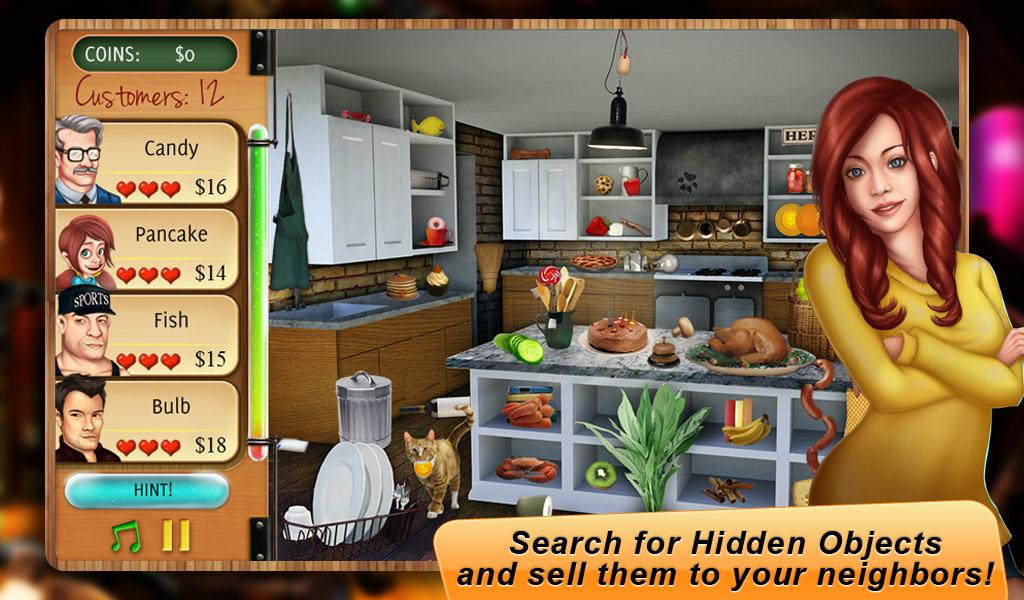 hidden object - home makeover - google play store revenue