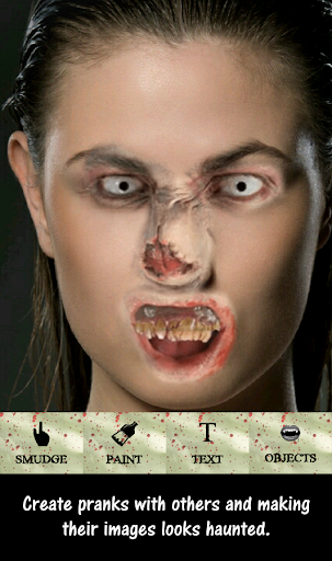 Haunted Face Changer