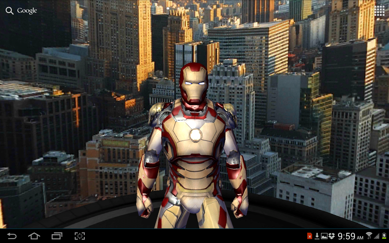 Iron Man 3 Live Wallpaper - screenshot