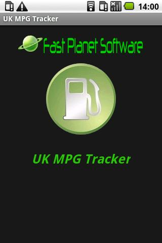 UK MPG Tracker- screenshot
