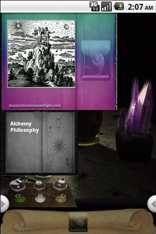 Book of Shadows Gallery Widget- screenshot
