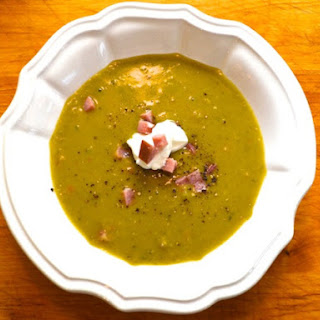 Ham and Split Pea Soup.