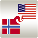 Learn Norwegian widget logo