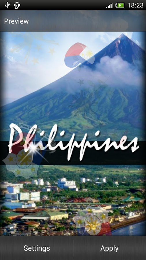 Philippines Live Wallpaper - screenshot