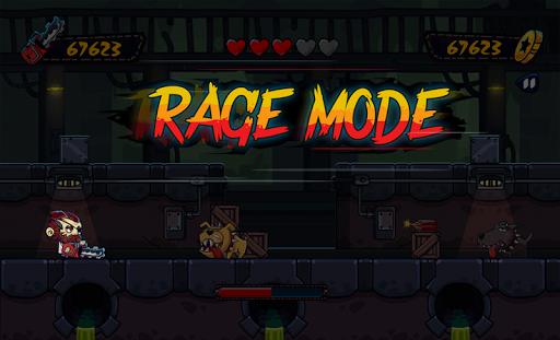 Chainsaw rage: mad dash