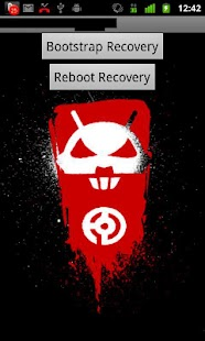 Droid 2 Recovery Bootstrap - screenshot thumbnail