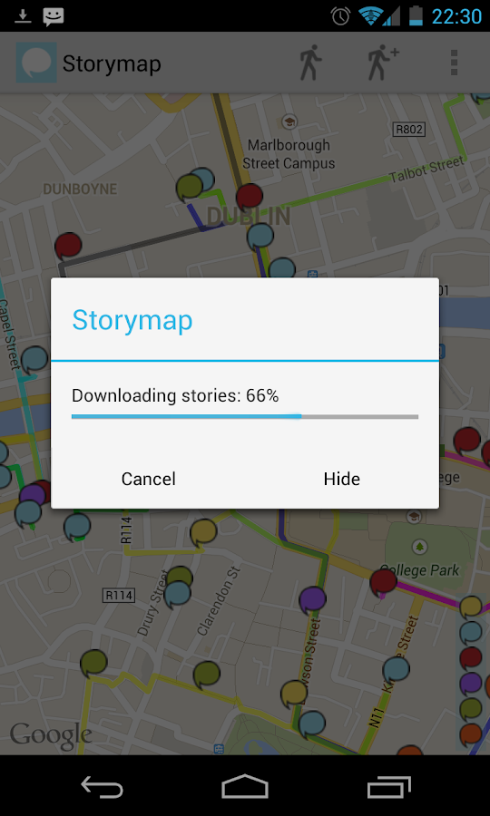 StoryMap - screenshot