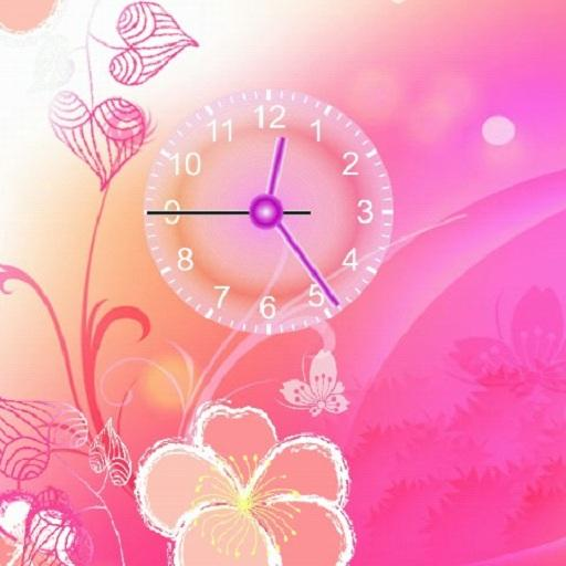 Flowers Clock LOGO-APP點子