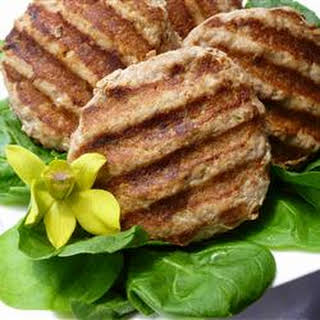 Asian Turkey Burgers.