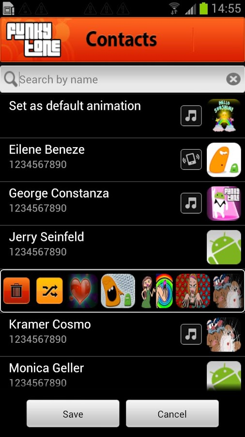 Funkytone Caller ID Ringtone - screenshot