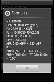 Firebot Fire Pump Calculator- screenshot thumbnail