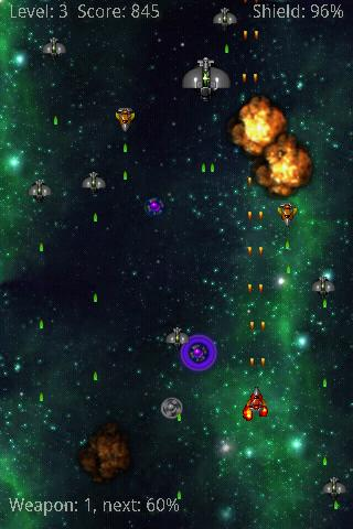 K-Space Shooter HD- screenshot