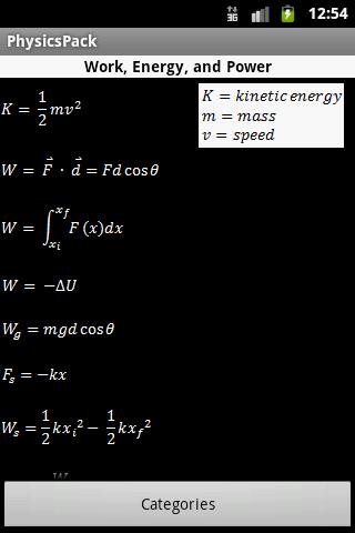 Physics Wizard - screenshot