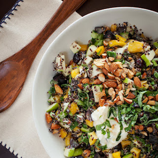 Black Quinoa Chopped Salad