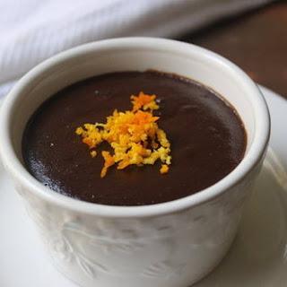 Warm, Flourless Chocolate Cake.