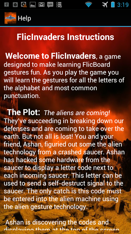 FlicInvaders- screenshot