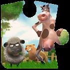 Farmspiele Puzzlespiele Kinder icon