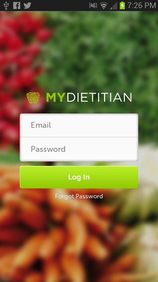 MyDietitian- screenshot