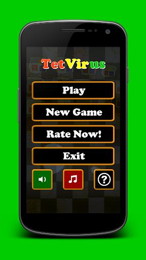 TetVirus box falling puzzle