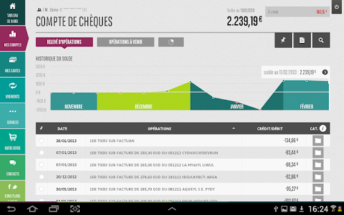 Mes Comptes BNP Paribas - screenshot thumbnail