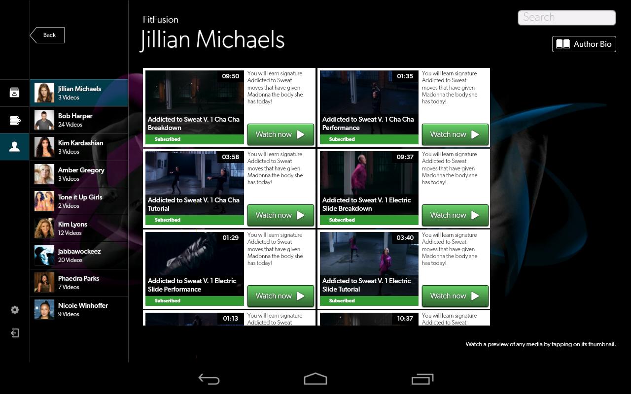 FitFusion - screenshot