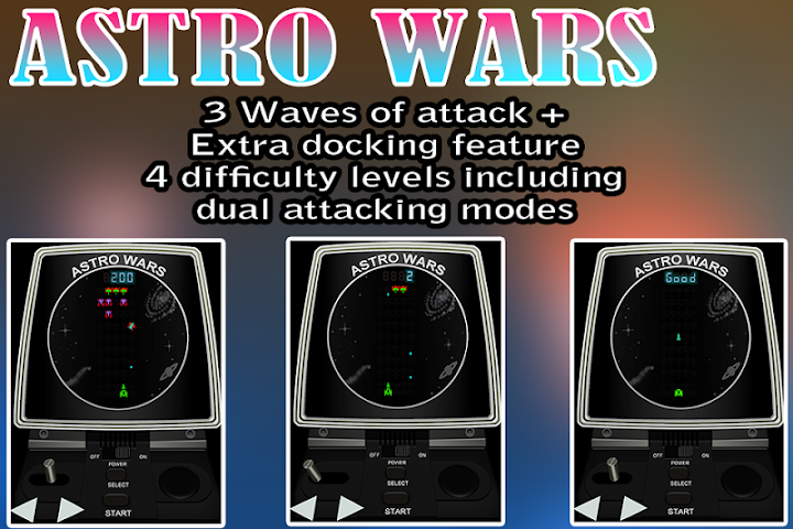 Screenshots for Astro Wars tabletop classic